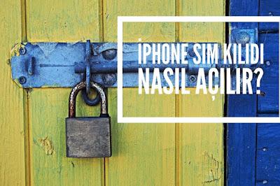 iphone apple kilit kaldırma