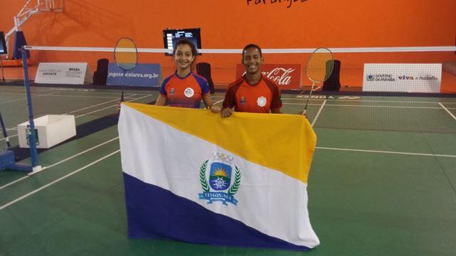 Atletas do Maranhão dão show nos Jogos Escolares da Juventude e conquistam duas medalhas de bronze no badminton