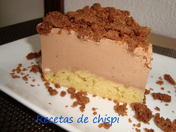 Tarta De Chocolate Y Platanos Y Crumble De Cacao