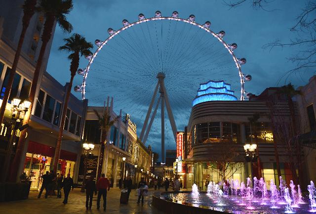 Complexo LINQ em Las Vegas