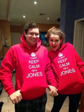 I Can't Keep Calm I'm a Jones Hoodie