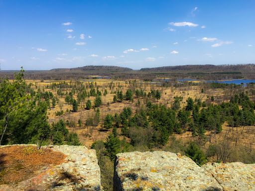From Lone Rock at Quincy Bluff SNA in Friendship WI