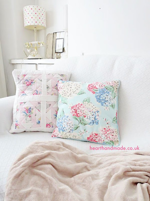 how to make patchwork pillow