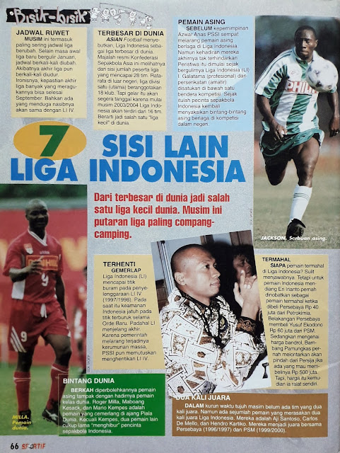 SISI LAIN LIGA INDONESIA