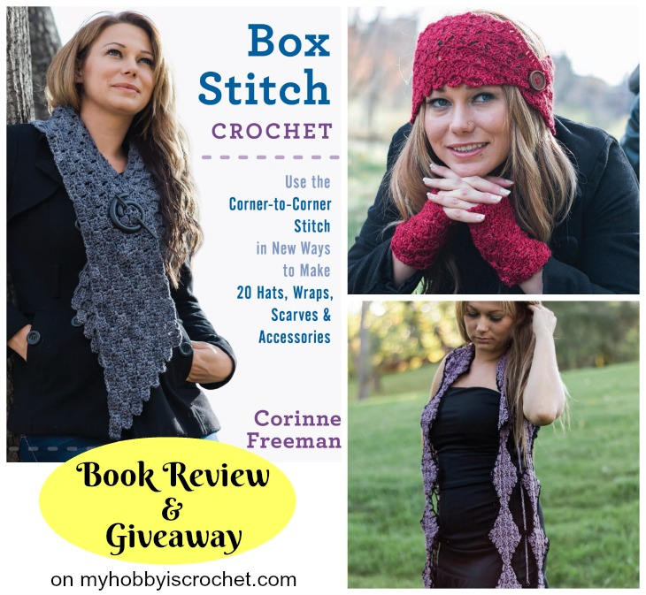 Box Stitch Crochet Book Review & Giveaway on myhobbyiscrochet.com