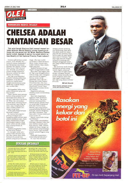 INTERVIEW WITH MARCEL DESAILLY