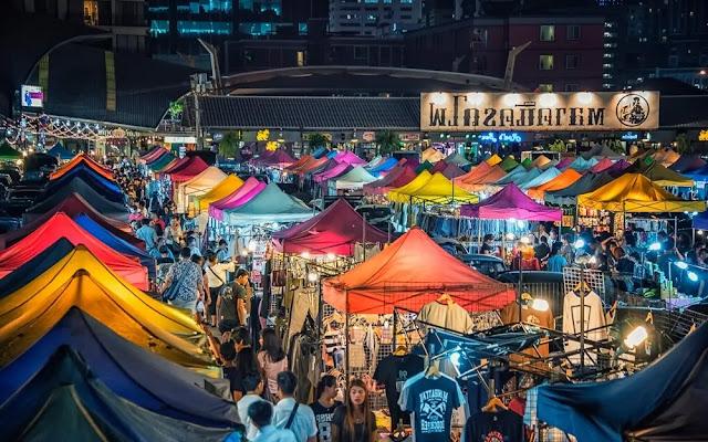 Bangkok Thailand shopping