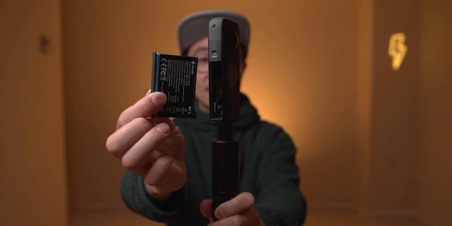 Insta360 ONE X2 電池