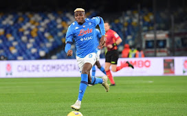 Osimhen Suffered Head Trauma With Memory Loss, Napoli Doctor Reveals