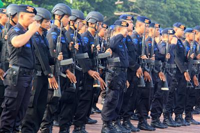 Antisipasi Demo Susulan, 200 Brimob Binjai Mulai Diberangkatkan ke Jakarta