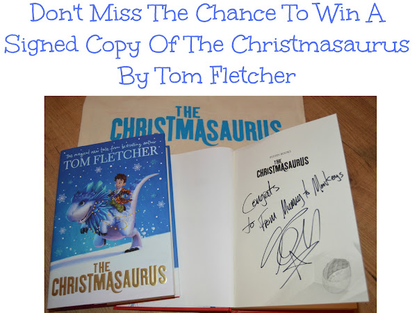 Signed Copy Of The Christmasaurus by Tom Fletcher Giveaway