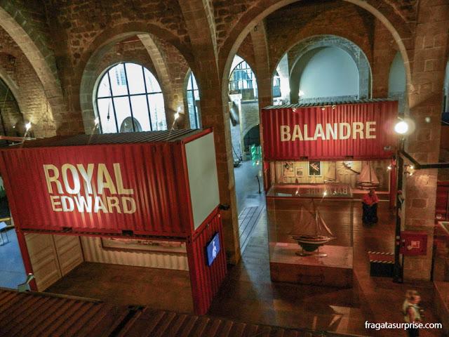"""Exposição """"7 Barcos, 7 Histórias"""", no Museu Marítimo de Barcelona"""
