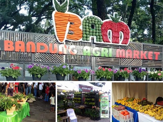 Bandung Agri Market Digelar di Plaza Balai Kota Bandung pada 15 September 2019