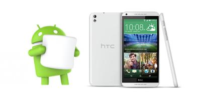 HTC Desire 816 يستقبل مارشميلو في السعودية