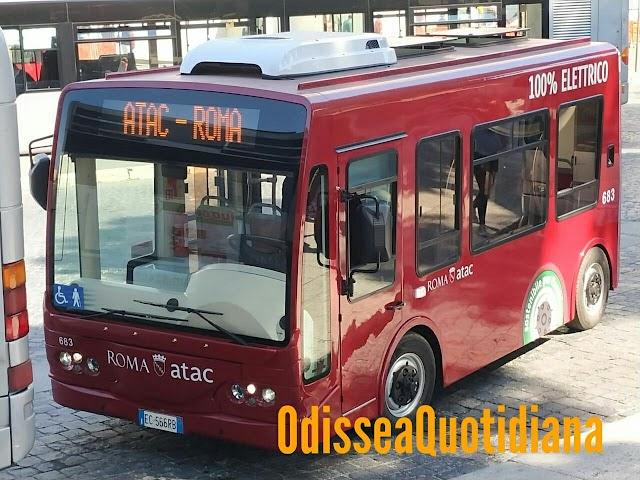 Atac e il flop dei minibus elettrici