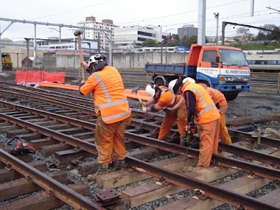 Track Worker Job Search