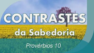 estudo bíblico provérbios pregação sabedoria