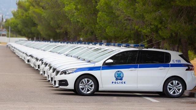 Ενισχύεται με περιπολικά το Τμήμα Τουριστικής Αστυνομίας Ναυπλίου