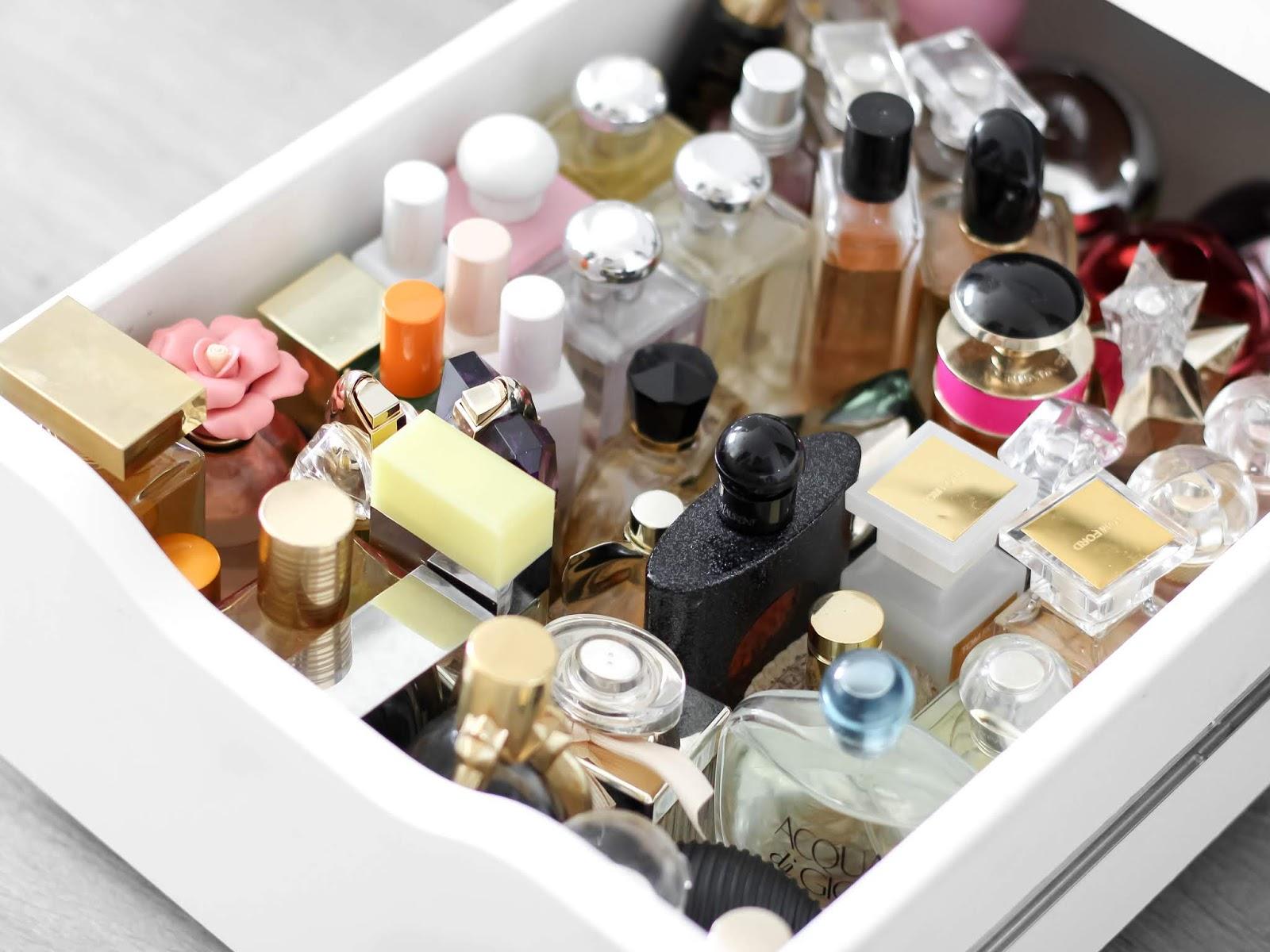 sbírka vůní a parfémů