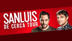 "Concierto de SANLUIS en Bogotá ""DE CERCA TOUR"""
