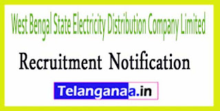 West Bengal State Electricity Distribution Company Limited WBSEDCL Recruitment Notification 2017