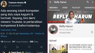Tsamara PSI Sindir Refly Harun? Balasan Netizen Super Telak!