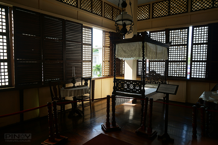 Jose Rizal's birthplace - boy's bedroom