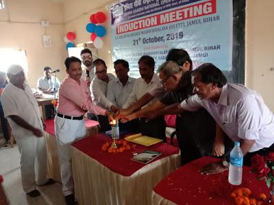 जमुई-S.A.E कॉलेज के इग्नू केंद्र में मनाया गया छात्र समागम समारोह।