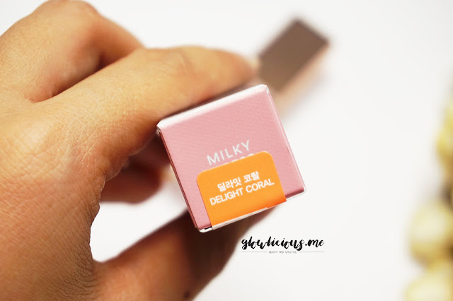Milky Dress Barbie Make Color Pop Tint in Delight Coral