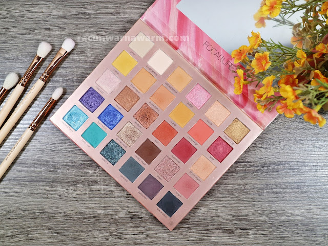 Review Focallure Endless possibilities 30 Eyeshadow Palette