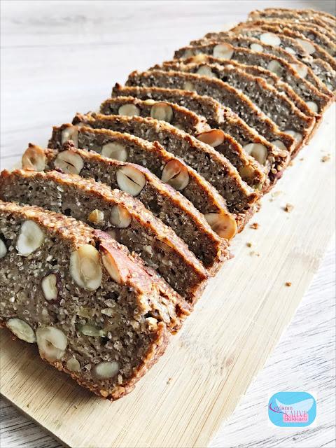 glutensiz ekmek, yemiş ekmek