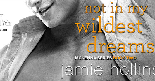 NOT IN MY WILDEST DREAMS by Jamie Hollins Tour Excerpt & Giveaway Feb 6th-17th!