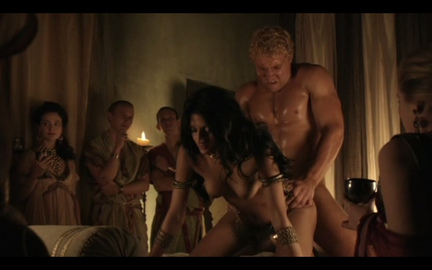 Eviltwins Male Film Tv Screencaps Spartacus Blood And-7452