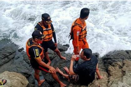 Wisatawan Asal Jogja Nyaris Tewas Tergulung Ombak