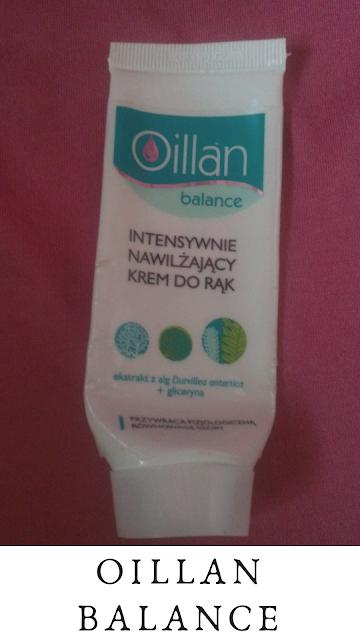Oillan, Balance - krem do rąk.