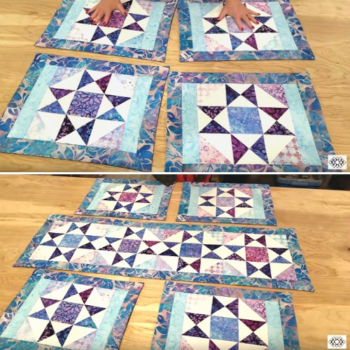 Charming Stars Table Runner - Tutorial