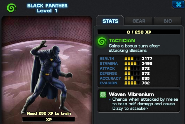 Image result for black panther marvel alliance