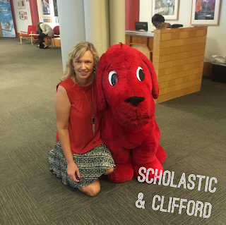 Clifford at Scholastic New York