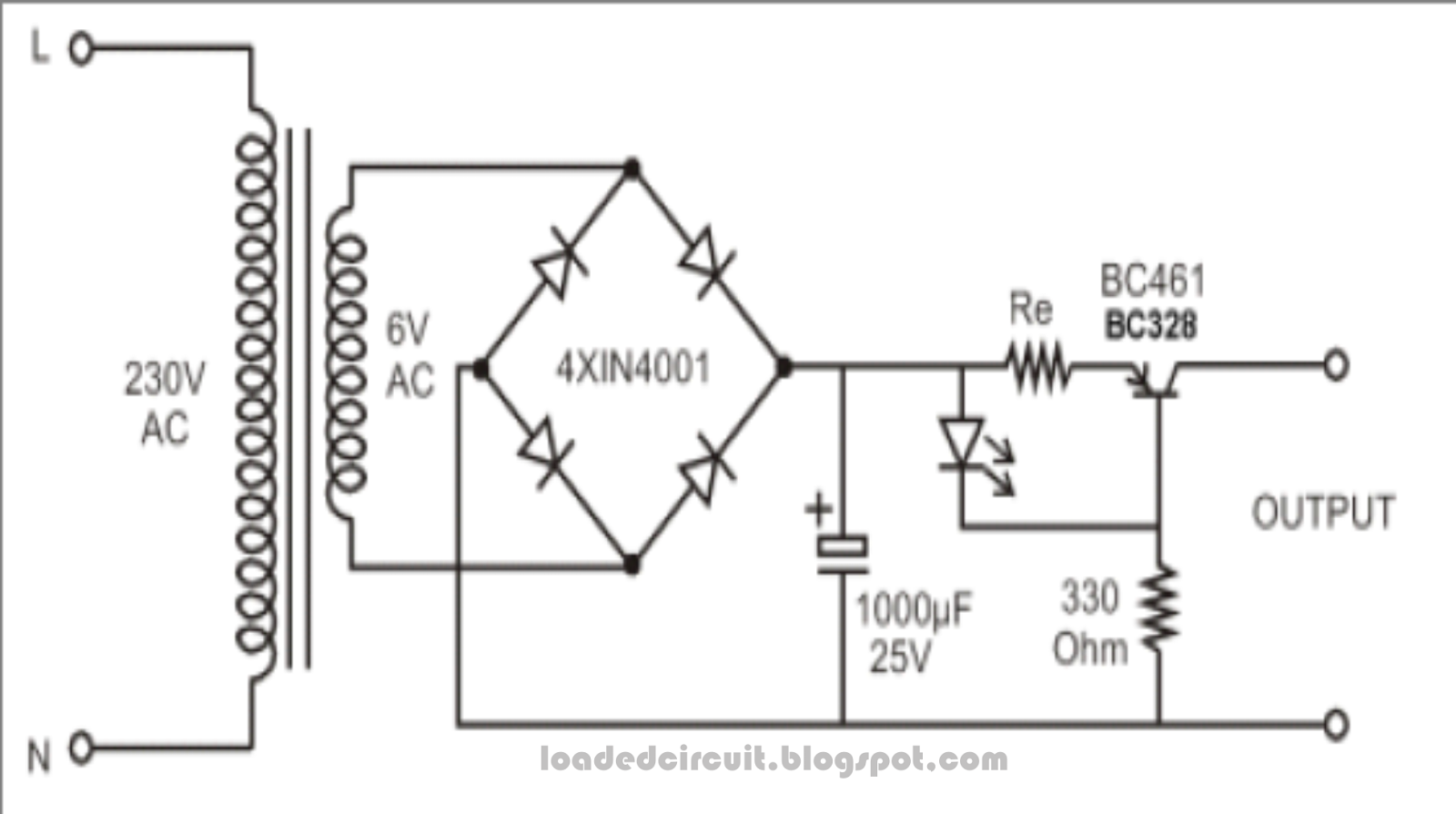 Loadedcircuit Constant Current Source