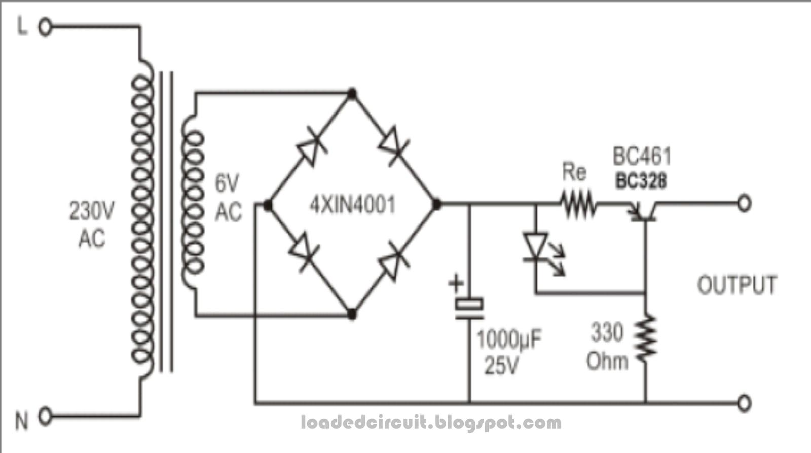 constant current source circuit diagram powersupplycircuit