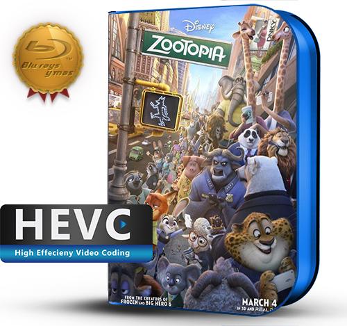 Zootopia (2016) 1080P HEVC-8Bits BDRip Latino/Ingles(Subt.Esp)(Animación)