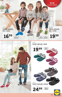 CATALOG LIDL 17 - 24 decembrie 2018 hainute de copii