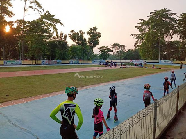 Tempat Belajar dan Bermain Sepatu Roda di Medan