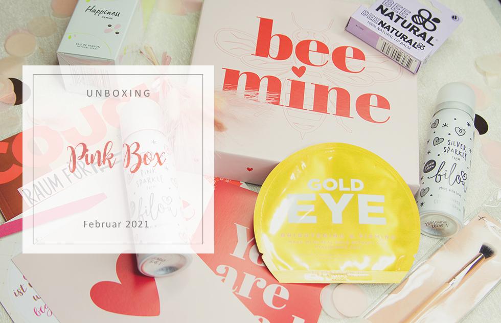 Pink Box - bee mine - Februar 2021 - unboxing