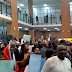 National Assembly On fire as staff storms building protesting for unpaid salaries