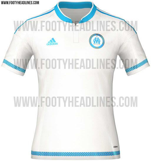 Camiseta Olympique de Marseille nuevas