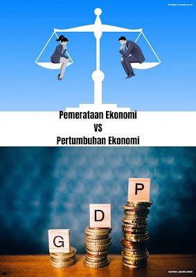 pertumbuhan vs pemerataan
