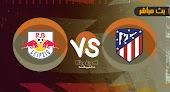 نتيجة مباراة ريد بول واتليتكو مدريد بتاريخ 28-07-2021 في مباراة ودية
