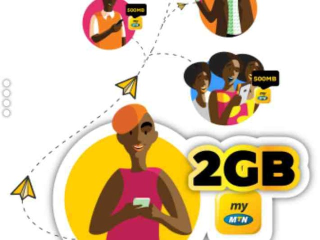 MyMTN App Invite And Get Promo, How To Get Free 2GB Data On MTN