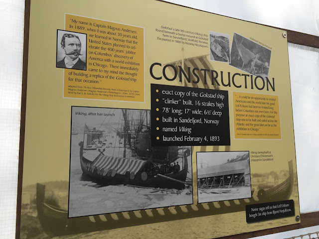 The history and construction of Viking.